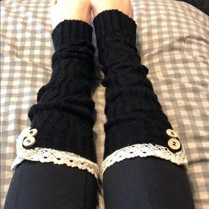 Leg warmers/ boot socks